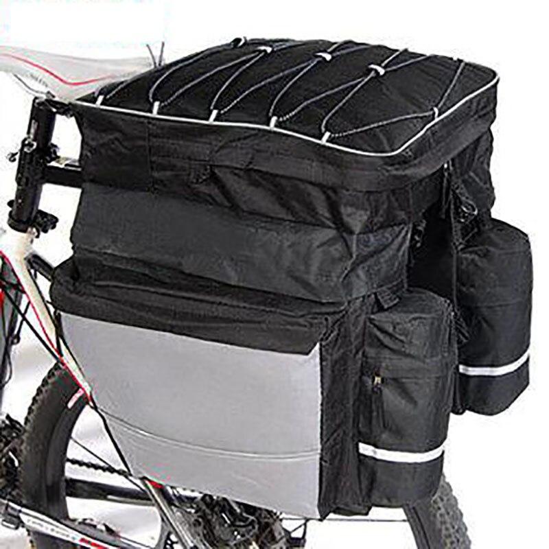 Bike Rear Rack Trunk Bag 68L 600D Polyester Cycling Pannier Handbag Summer MTB waterproof bicycle bags Bycicle accessories
