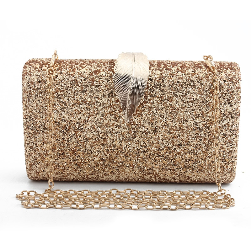 dropshipping clutch bags for women 2019 purse luxury handbags women bags designer shoulder bag shiny wedding party prom wallet