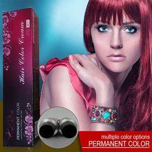 Mokeru 100ml crème de couleur sans ammoniaque professionnel naturel rouge unisexe cheveux teinture crème violet couleur de cheveux peinture permanente pour cheveux