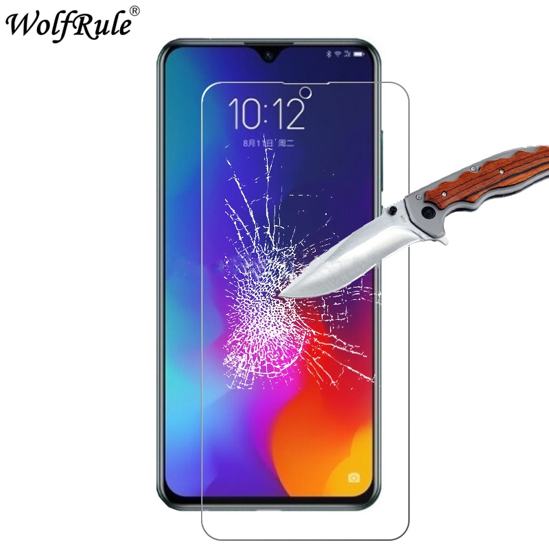 2PCS Screen Protector For Lenovo Z6 Glass 9H Hardness Tempered Protective Phone Film