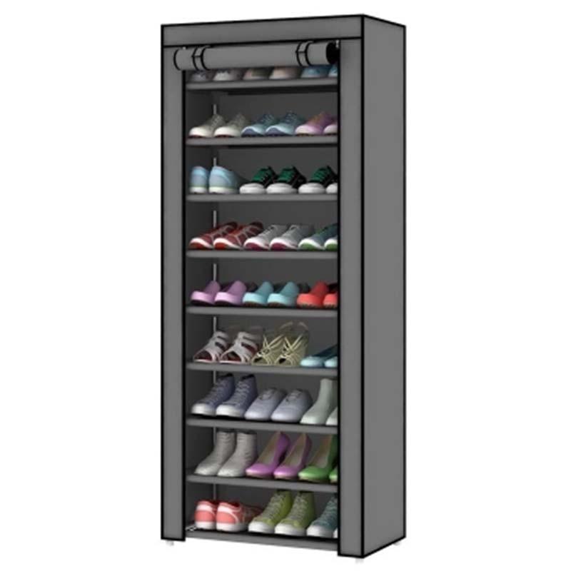 Доставка по России В розницу и оптом от 2 штук Обувной шкаф обувь стойки хранения больших Ёмкость домашняя мебель простые 10 слоев мебель