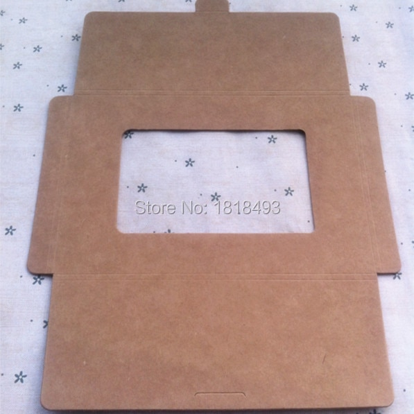 Envío Gratis en blanco 350gsm papel kraft postal sobre 16.5x11.3x0. 5 CM/caja de embalaje de REGALO/caja de embalaje de Tarjeta/etiquetas de embalaje 40 Uds