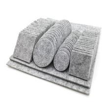 80 szt. Meble dębowe krzesło noga stołu samoprzylepne filcowe podkładki ochraniacze drewnianych podłóg odporne na zadrapania najwyższa jakość