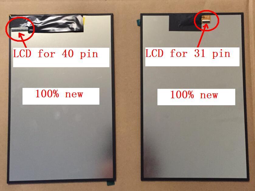 Envío Gratis 10,1 display, 100% New Matrix para Sigma mobile x-style Tab A102 interior LCD display Module reemplazo de lente de cristal