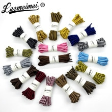 1 pair 90cm Wholesale Fashion Brand Polyester Sneaker Shoe Lace Double Striped Braid Round Shoelaces