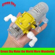 Alta qualidade 4l/min 12 v dc 30 w purificador de água pressurizer bomba de reforço de água automática