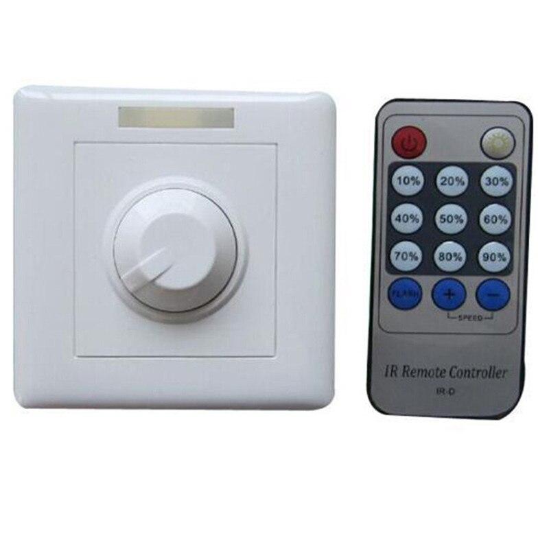 1 pces livre shipping 110v 120v 220v 240v 300w scr triac led dimmer interruptor regulável luzes de ponto downlights