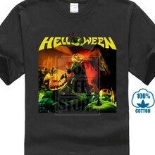Helloween Recht Uit Hell Tourdates 2014 Heavy Metal Nieuwe Zwarte T-shirt