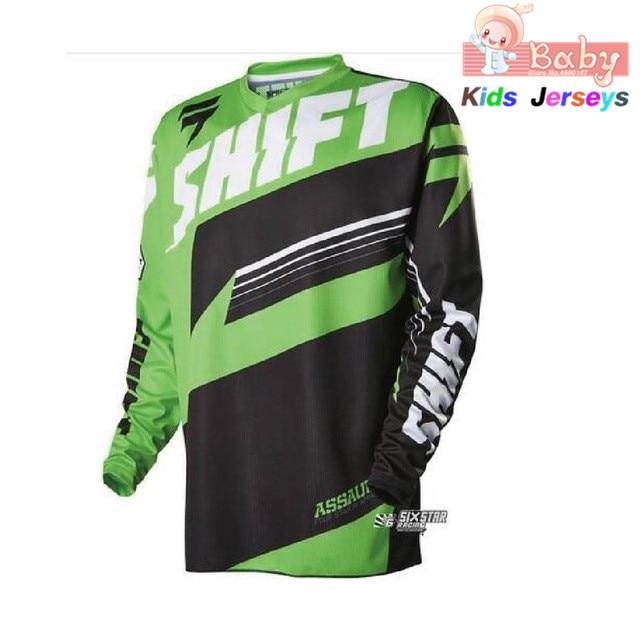 2021 niños Pro ciclismo de montaña ropa Jersey para descensos MTB Maillot...