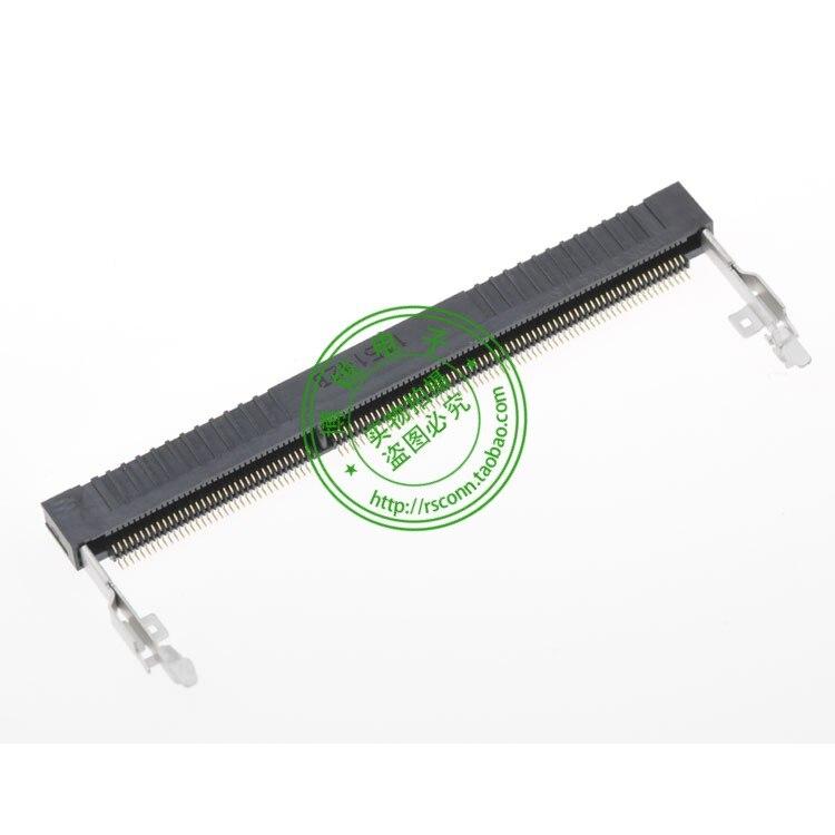 T-E AM-P conector espaçamento 0.6 204PIN DDR3 altura 4 RVS reversa 2-1932329-1