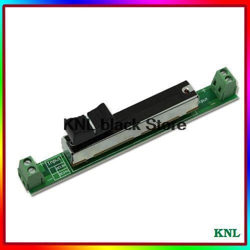 6 unids/lote, Mini atenuador de Led izquierdo-derecho, controlador de atenuación deslizante led de funcionamiento manual para iluminación led DC 5V 12V 24V