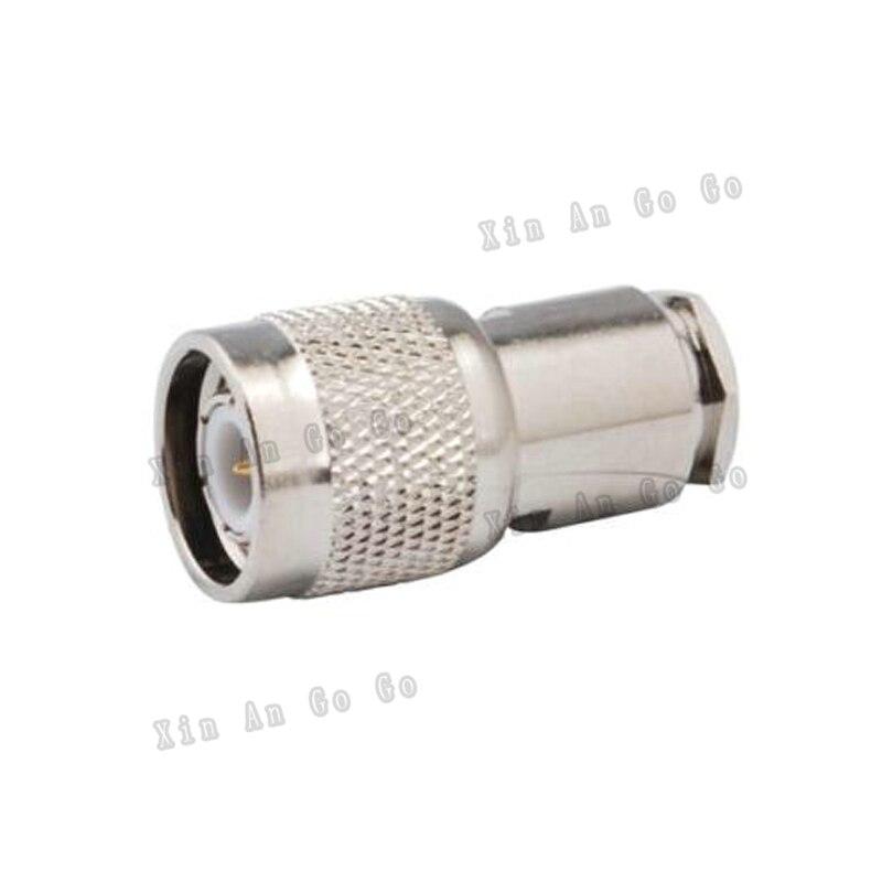10 قطعة RF موصل TNC الذكور المشبك اللحيم موصل لتناسب RG58 RG142 LMR195 كابل شحن مجاني