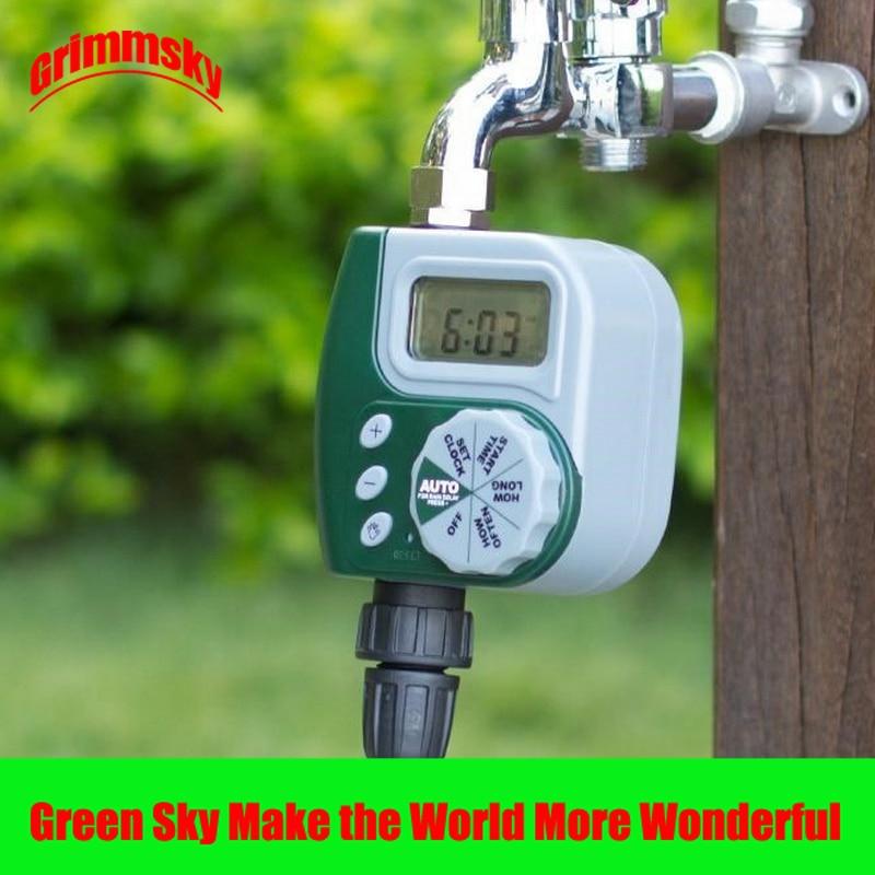 high quality LCD waterproof garden water controller