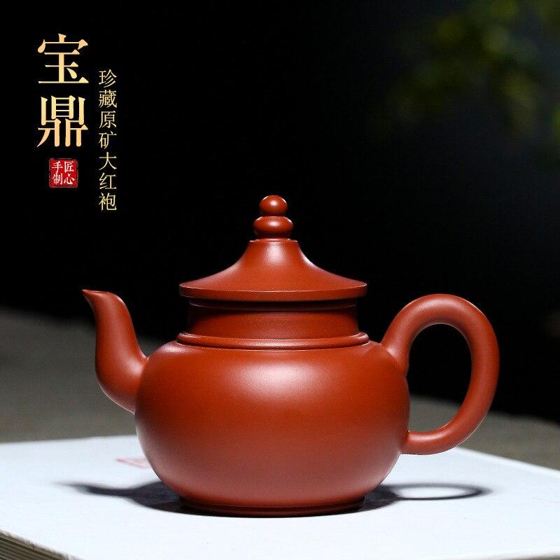 Baoding-مجموعة الشاي اليدوية الجديدة yixing dahongpao ، مصنع إبريق الشاي القديم