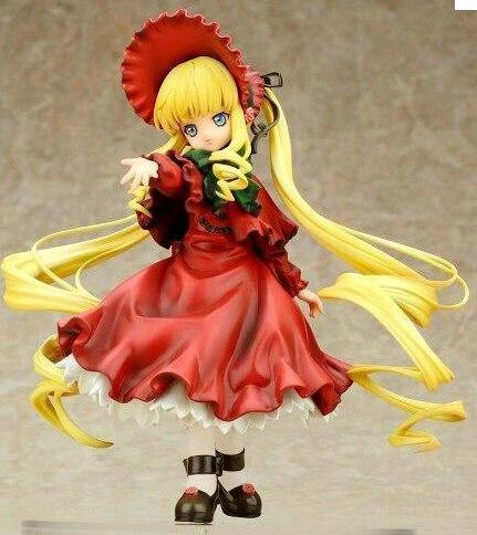 19 см японская аниме фигурка Япония оригинальная ver Shinku Rose maiden фигурка Коллекционная модель игрушки для мальчиков