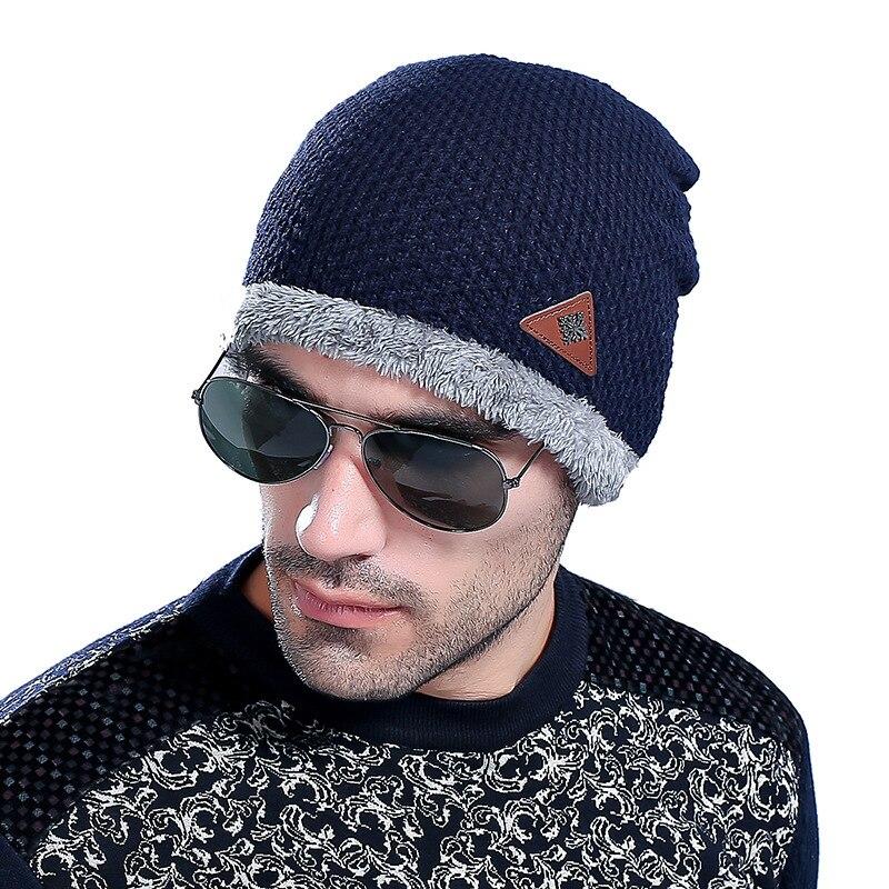 Gorros de lana con copos de nieve de invierno, gorros de lana cálidos para otoño 2020, gorros de diseño suave, gorros de Deporte térmico a la moda M074