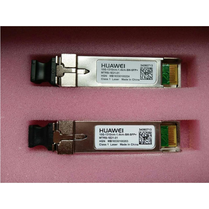 10G SFP-10G-LR-SM 1310nm Fiber Optic Modules 10G SFP SM 1.4KM Optical fiber module For Hua Wei Trans