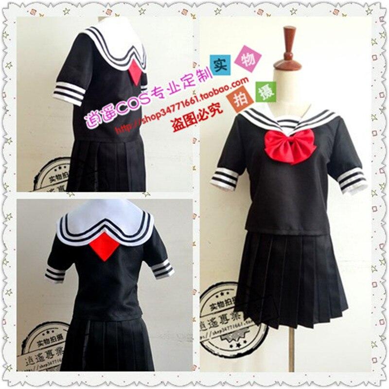 New Magical Girl Site Asagiri Aya Cosplay Costume Girls School Sailor Uniform  Cosplay Costume Dress Custom Made