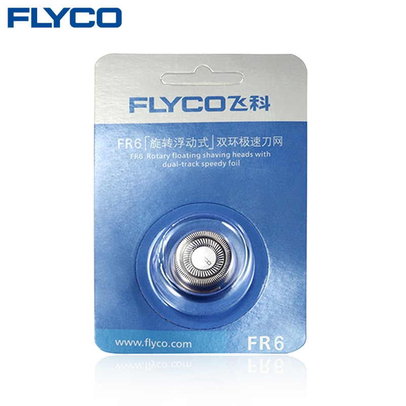 1PC Electric Razor Blade Replacement For Flyco Razor Blade Shaver Head FR6 Fit For FS320 FS323 FS325 FS328 FS329 FS330