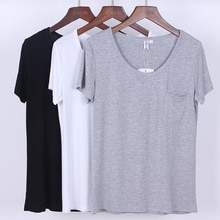 Moda feminina casual camiseta meninas presente
