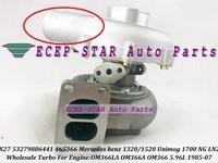 K27 53279886441 53279706441 465366 Turbo Turbocharger For Mercedes Benz Truck 1320 1520 NG LN2 Unimog 1700 85-07 OM366LA OM366A