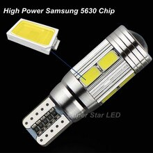 2 X T10 LED W5W Car Side Parking   Light bulbs With Projector Lens For SUZUKI Grand Vitara Swift SX4 Vitara Aerio Samurai