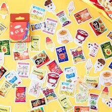 Mohamm GoodTime-pegatinas adhesivas personalizadas para diario, copos de papelería para álbum de recortes, pegatinas decorativas DIY, serie Kawaii