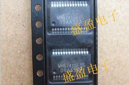 1 unids/lote WM8741GEDS/RV WM8741GEDS WM8741 DAC 24BIT STER 192 KHZ 28 SSOP nuevo original envío gratis