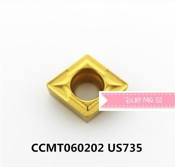 CCMT060202 US735/CCMT060204 US735/CCMT060208 US735, originele CCMT 0602 02/04/08 insert carbide voor draaien gereedschaphouder