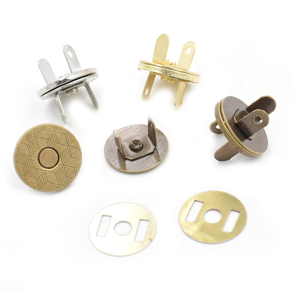 (10 компл./Лот) 14 мм-18 мм тонкие магнитные пуговицы, магнитные автоматические адсорбирующие Металлические Магнитные пуговицы-бумажники