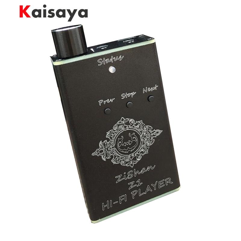 Newest DIY MP3 Zishan Z1 DSD DAC Player Lossless Music MP3 HiFi Music Player Support Headphone Amplifier