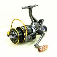 10 + 1BB MG30-60 moulinets de pêche métal ligne tasse filature moulinet pêche carpe appât coulée filature mouche pêche moulinet frein à main roue MG