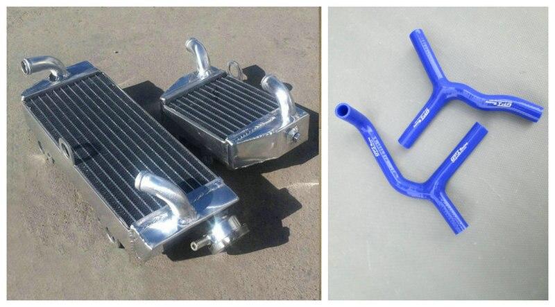 Radiador de aluminio y silicona de la manguera para KTM 2003-2012 85 sx 105 sx sx85 sx105 KIT de 2003, 2004, 2005, 2006, 2007, 2008, 2009, 2010, 2011, 12