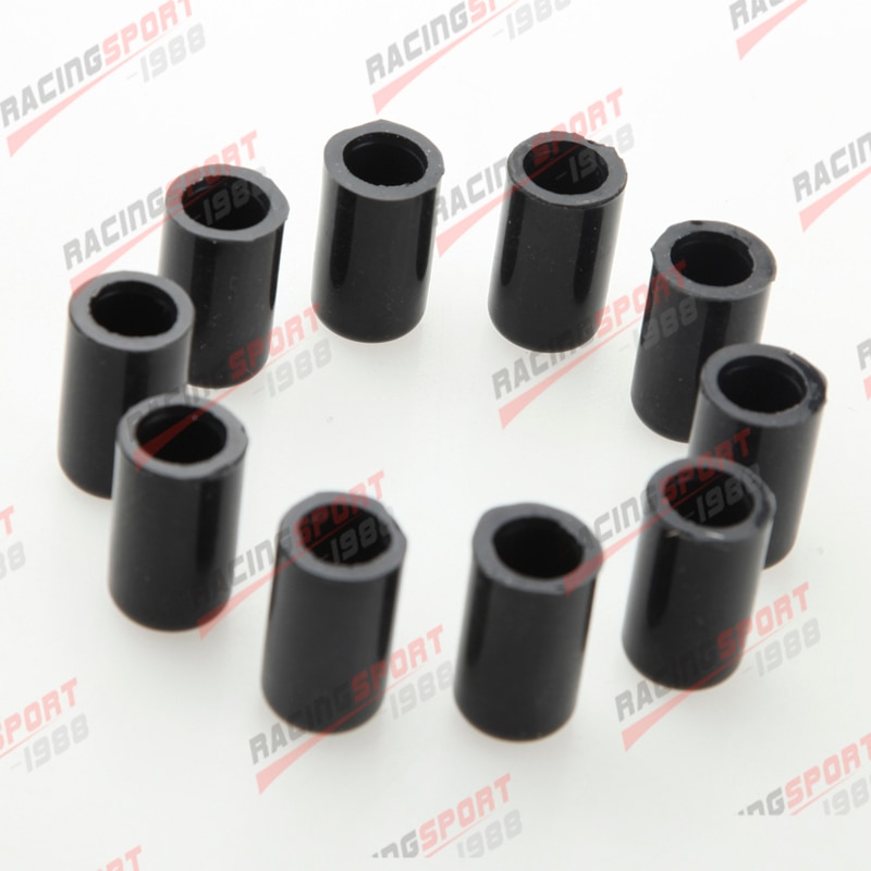 10 Uds. Tapón de silicona de 16mm para manguera de vacío