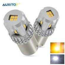 2x P21W LED 1156 BA15S 5630 5730 7506 LED المصابيح الخلفية كشافات خلفية للسيارة-أبيض لمبة لسكودا فابيا براكتيك أوكتافيا 1Z3 5E3
