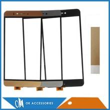 Black White Gray Gold Color For Prestigio Muze E3 Muze D3 PSP3530 PSP3531 Duo Touch Screen Digitizer With Tape 1PC/Lot