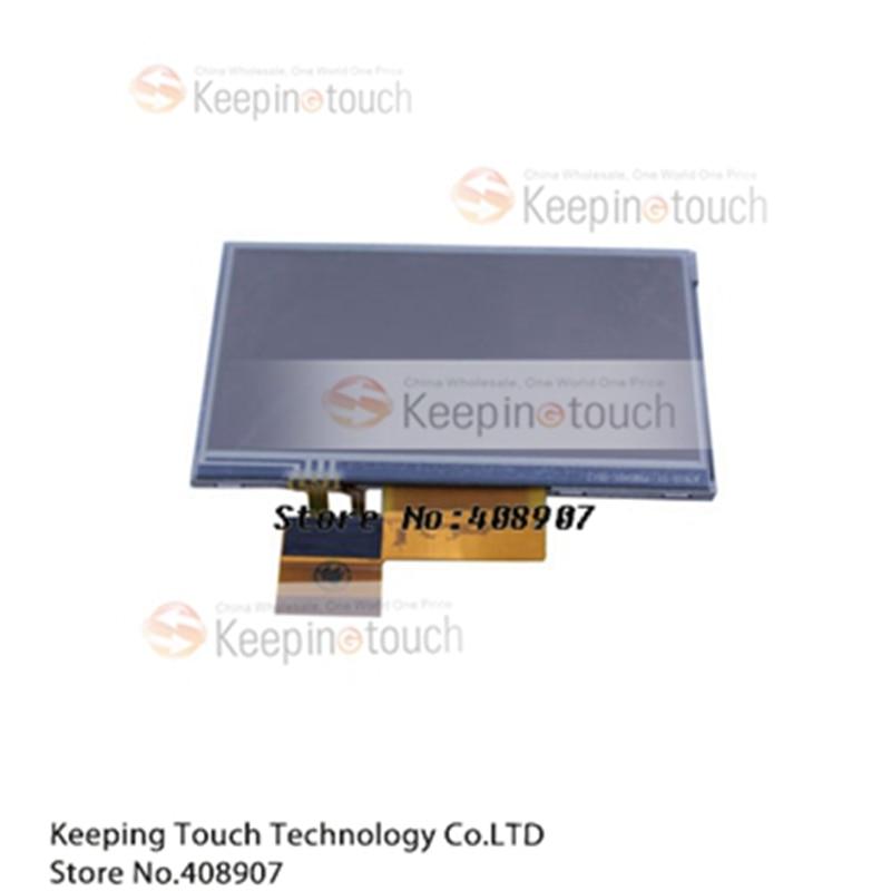 4.3 polegada display lcd + digitador da tela de toque para garmin nuvi 205w 245 255 255wt 260 265 765 765t 750 755 780 lq043t1dh42
