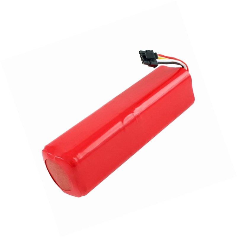 1 pieza Robot 14,4 V Pack de batería recargable para xiaomi 2 mi roborock s50 s51 piezas de limpiador de vacío de accesorios
