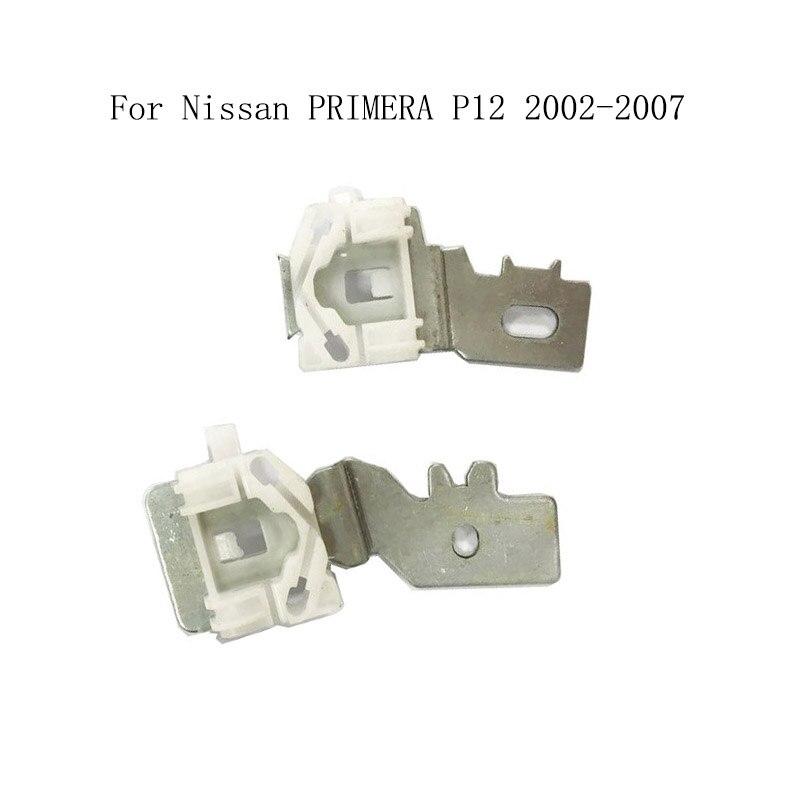 Für Nissan PRIMERA P12 2002-2007 Power Elektrische Auto Fensterheber Fensterheber Reparatur Clips Metall Slider Vorne Links