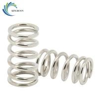 10pcs stainless steel springs 3d printer parts 6 8mm spring for um2 heatbed heated bed adjusting springs 1 29 215mm