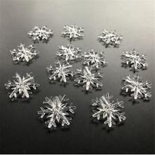 wholesale 1000 pcs of plastic snowflake