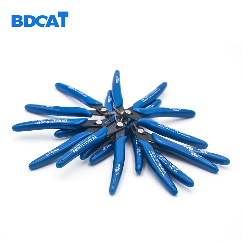 """BDCAT 5 """"125mm DIY Fio do Cabo Elétrico Tesouras Cortadores De Stripper Alicate De Corte Lateral Alicate Diagonal"""