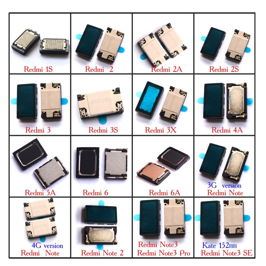 2x altifalante altifalante ringer buzzer para Xiaomi Redmi 1S 2 2A 2S 3 3X 3X 4 5A 6 6A Redmi Nota 1 2 3 3g/4g kate SE 152 milímetros
