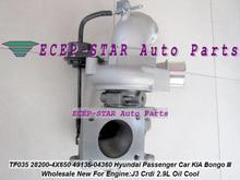 Hyundai-voiture de passager pour KIA Bongo III   Turbo TF035HM 28200-4X650 282004X650 49135-04360 49135 04360, huile 2.9L