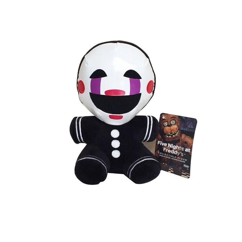 Chegada nova 18 cm 4 FNAF das Cinco Noites No Freddy Pesadelo marionete de Pelúcia Boneca de Brinquedo de Pelúcia Brinquedos De Pelúcia Macia para Crianças dos miúdos presentes
