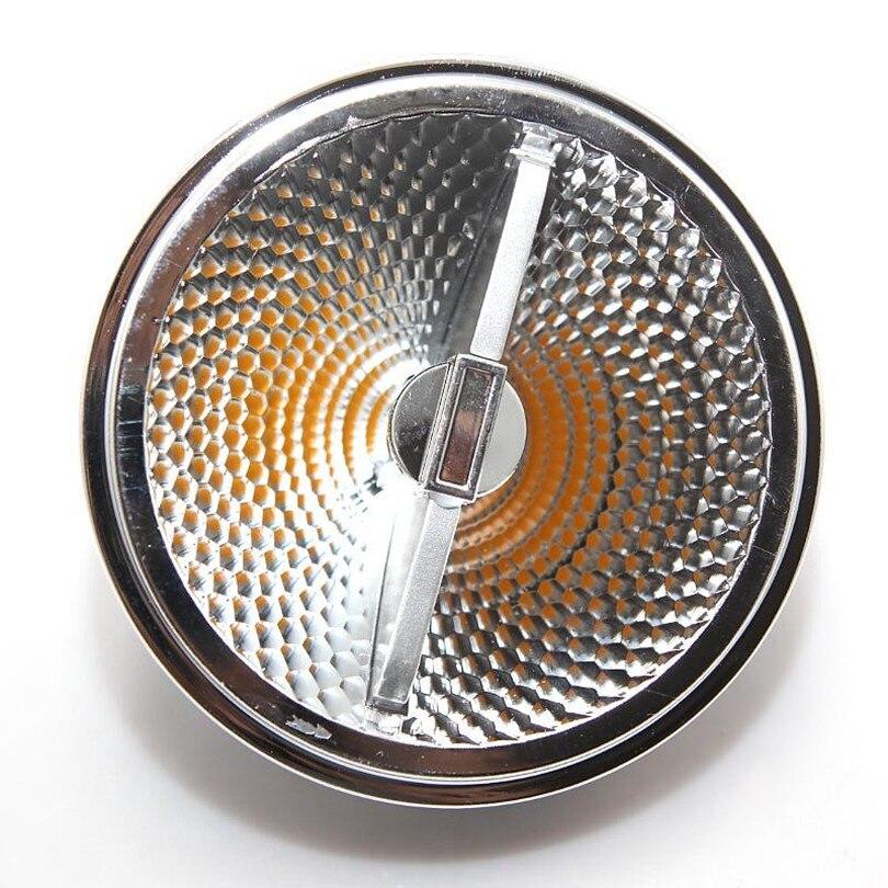 12x regulable AR111/QR111/G53 15W COB LED Bombilla de luz LED Downlights blanco cálido blanco frío AC110V/220 V/DC12V envío gratis