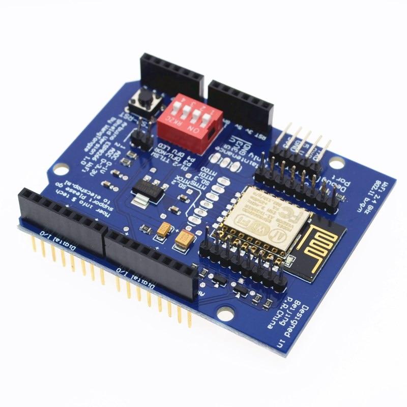 UNO R3 ESP8266 Web Sever serial WiFi expansion board shiled ESP-12E for arduino