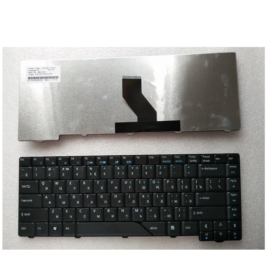 Nuevo ruso teclado para Acer Aspire 5715 5715Z 5720G 5720Z 5720ZG 5910G 5920G 5920ZG 5930G 5950G 6935.
