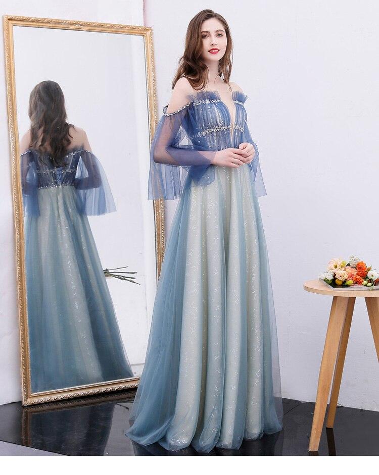 100% reais azul strass beading ruffled vestido vestido medieval Renascentista Vestido de princesa Victoria pode costumes tamanho