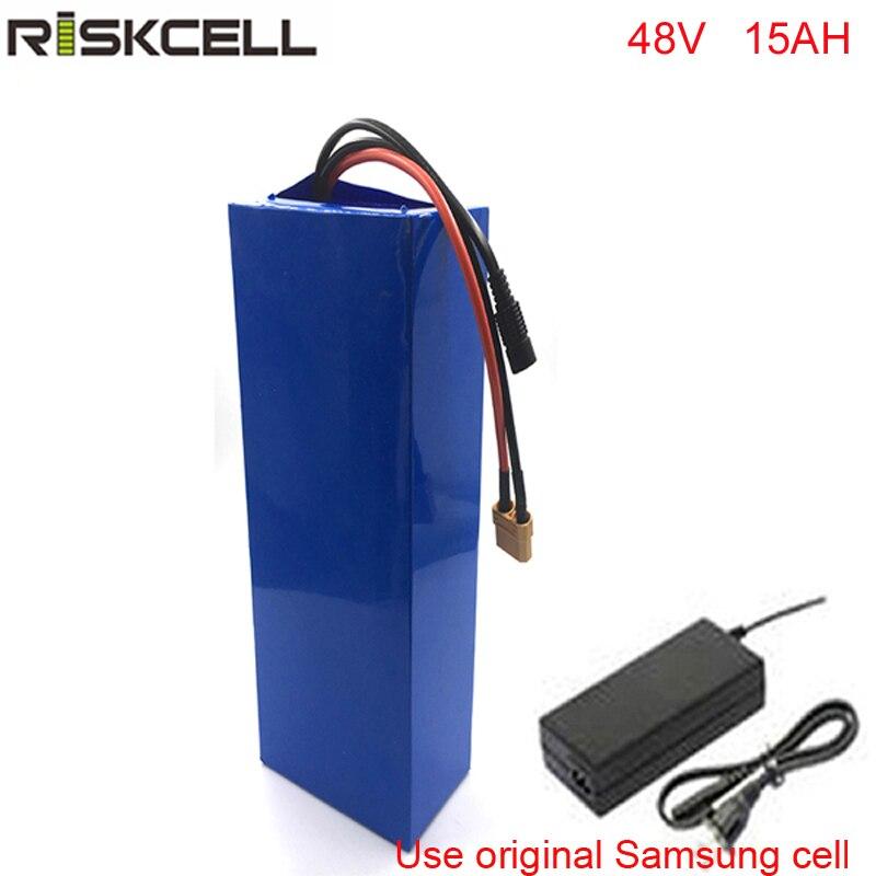 Bafang-batería para bicicleta eléctrica, 48v, 15ah, 750w, 1000w